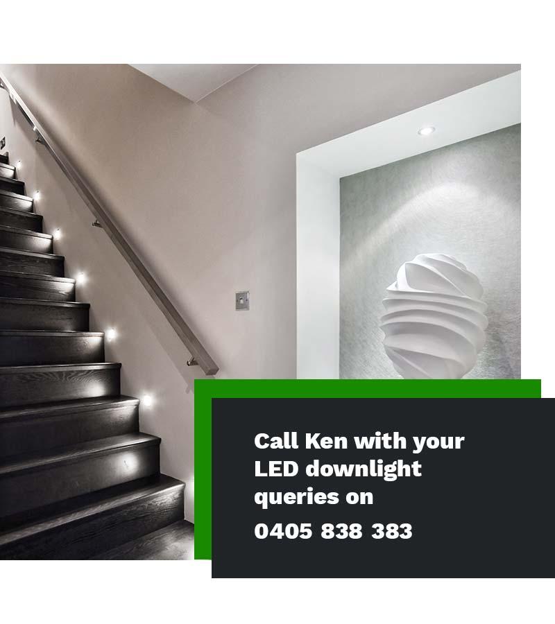 LED light installer electrician Sydney