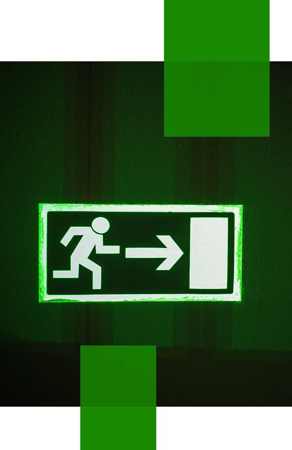emergency exit sign installation Sydney