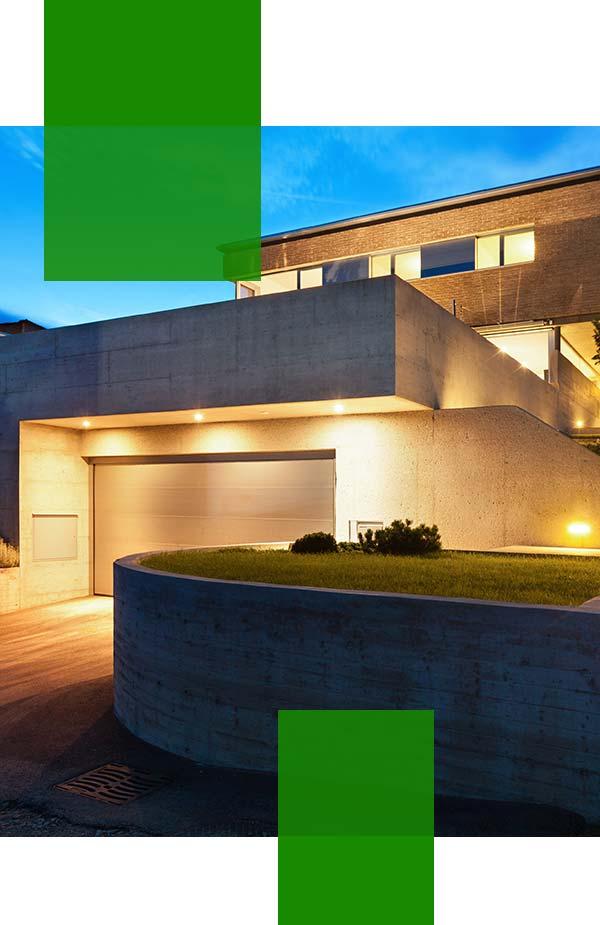 exterior downlight installation Sydney