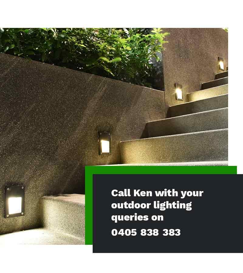 outdoor lighting installers Sydney