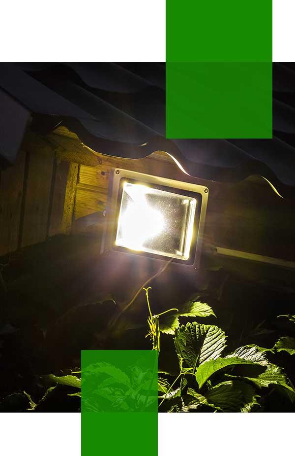 outdoor security light installer Sydney