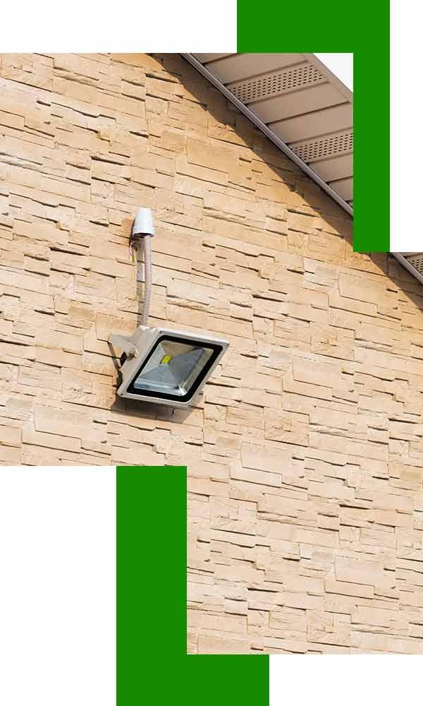 outdoor security lighting installation Sydney