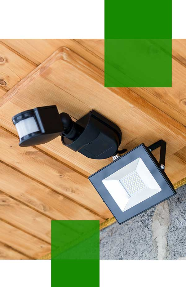 outdoor security lights installer Sydney