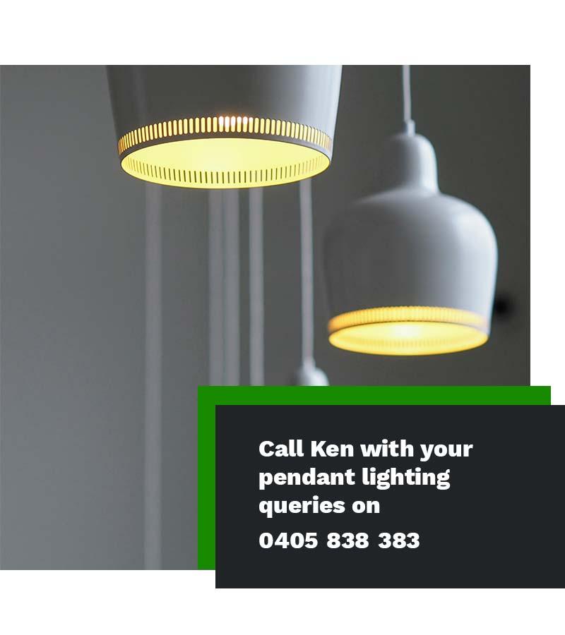 pendant lighting installer electrician Sydney