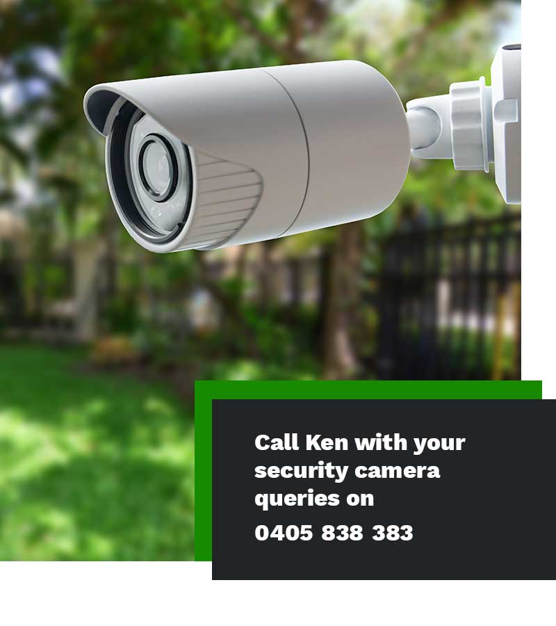 security camera installer electrician Sydney